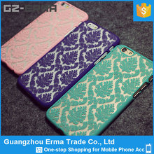2015 New The Court Flower Cell Phone Case, Colourful Mobile Phone Case, Hard Cover
