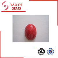 Red Opal Oval Cut High Quality Stone Wholesale Synthetic Opal