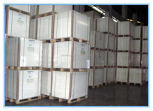 A Grade White Coated Duplex Board Grey back/Mix Wood Pulp Coated Ivory Board for Packaging Industrial