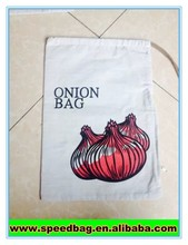 Onion bag Fresh vegetables packaging bag small pouch with zipper