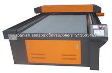 ZK 1325 láser máquina para cortar acrilíco, MDF y papel