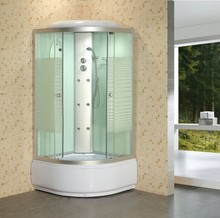 printing tempered glass shower cubicles
