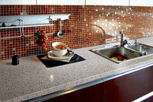 Classical Seamless Solid Surfaces Countertop