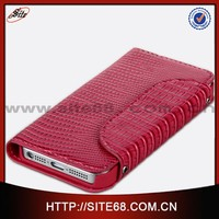 High Quality PU leather With Stand wallet case for iphone 5 5s leather wallet flip cover, for iphone 5s case coverage