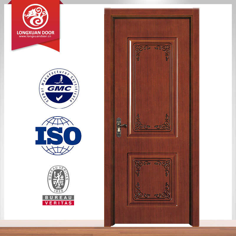 High quality teak wood main door models and solid wood for Main door model