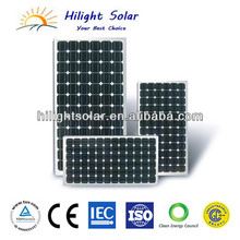 300W Monocrystalline Silicon Solar Panel With CE/IEC/TUV/ISO Approval Standard