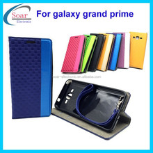 New arrival wall brick pattern design leather case for Samsung galaxy grand prime G530