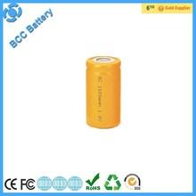 1.2v nicd sub C 2200mah battery