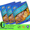 Up to 12 colors printed,Resealable plastic bags for fish food