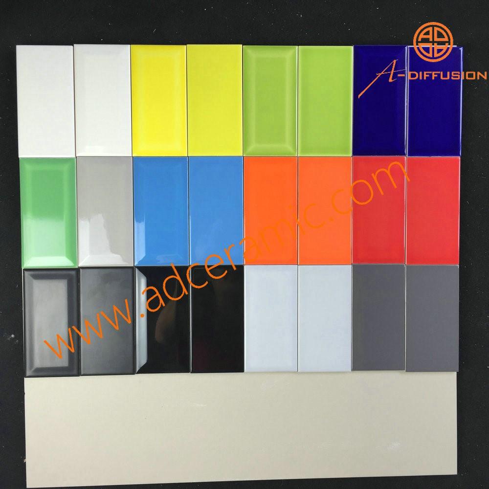 "Wit glanzend metro tegels 7.5* 15cm 3x6""-tegels-product-ID ..."