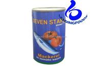 Premium Quality Fresh Canned Jack Mackerel with Tomato Sauce Fish Type Product