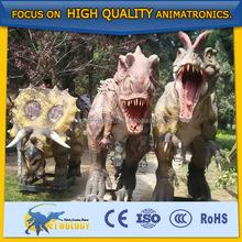 Life-sized Dinosaur Display Handmade Animatronic Foam Dinosaur