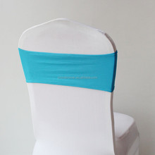 SCB-0008 Lycra bands for chair cover/spandex chair bands for wedding/chair cover sash bands