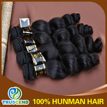 2014 best selling 2014 Hot Sell Product 6a grade unprocessed loose wave bulk hair for wig making