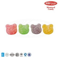 Super sour sweet bear sour fruity candy
