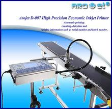 Arojet D-007 high precision economic digital label industrial Inkjet Printer