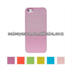 Ultrathin colorful dot design for iphone 5 replacement back cover