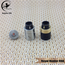 Small order accepted!!! e cigarette hong kong royal hunter rda atomizer with large Bar Airflow Control from kepler factory
