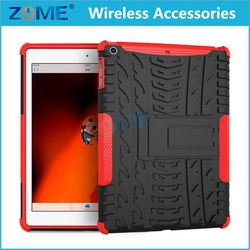 New Silicone Case Mobile Phone Accessories Heavy Duty Full-Body Rugged Pc Case With Kickstand For Ipad5