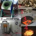 Oro eperlano / lab eléctrico horno de fusión en / 20 kg dorado de equipos de fundición