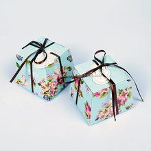 Hot Popular Candy Packaging Box For Wedding, Cute Gift Box With Ribbon Making Mechine Price