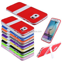 Newest Tpu 2 Mobile Phone Shell Translucent Matte With Stand S6 edge