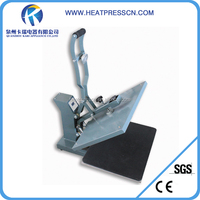 factory directly 38*38cm magnetic semi-auto open heat press machine