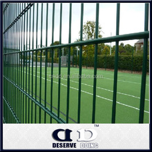 Trellis & Gates double wire mesh fence with sliding gate