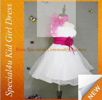 SPSY-181 Haute qualité coloré enfants robe fille robe de 9 ans enfant robe