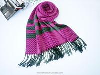 2015 hot OEM Men and women fashion classic grid tassel scarf Super upset imitation of cashmere scarves
