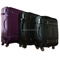 4 Wheels Polyester atlantic luggage