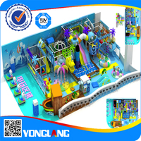 Ocean theme kids indoor play house small indoor playground
