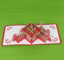 Quite popular and affordable Handmade 3D Christmas paper crafts