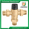 brass 1/2 inch for pex or copper pipe thermostatic mixing valve