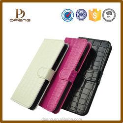 2015 Custom genuine leather flip case for lenovo a3000