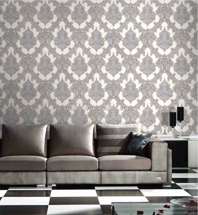 Elegante interno rivestimenti murali carta da parati camera da ...