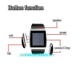 Customized best selling gps smart hand watch mobile phone price