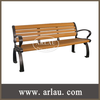 FW36 Teak Wood Bench Series and Non Folding Bench Chairs for Park and Garden