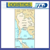 Air freight from Guangzhou to Koh Samui , Thailand