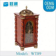 Hot Made-in-China Custom Make skeleton table clock