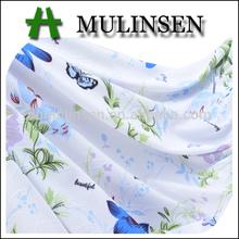 Mulinsen Patrones textiles de las Niñas DTY Poliéster Jacquard Tela Impresión