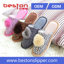 2015 beautiful and high quality women sheepskin slipper