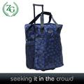 estilo coreano serviceable rodante bolsa de lona