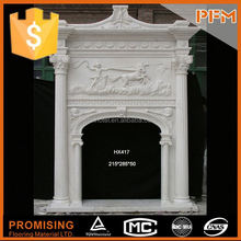 Best granite yellow fireplace surrounds mantel design marble surrounds