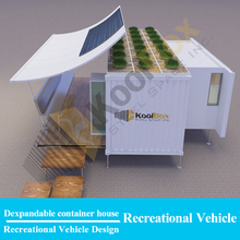 Expandable container living house , expandable container house for sale