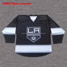 Customize polyester hockey jerseys printing