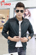 Hot-Selling Fur And Warm Men PU Leather With Fashion High Quality Men Leather