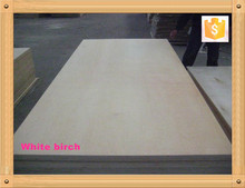 white birch plywood for USA CARB E0 glue, D/E grade good quality UV Birch Plywood For Furniture