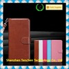 PU Leather Wallet 3 Pockets Inner Flexible TPU Slim Fit Case for iPhone 6 with Magnetic Flap & Hand Strap for Iphone 6