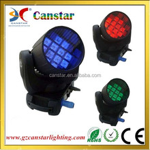 12x10W RGBW Quad 4in1 LED beam moving head light with carton package